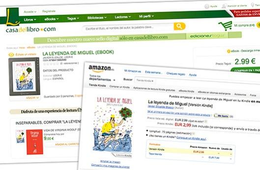"""""""La leyenda de Miguel"""" de venta en Amazon y La Casa del Libro"""