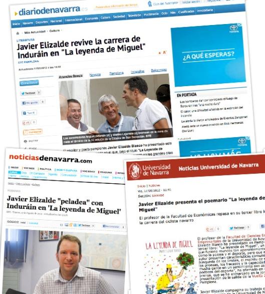 """""""La leyenda de Miguel"""" en los medios"""